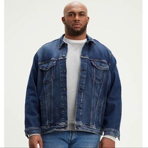 Levi's Trucker Jacket Denim Blue Jean SZ XXL